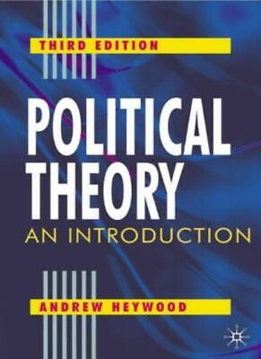 £3.24 • Buy Political Theory: An Introduction,Andrew Heywood- 9780333961803