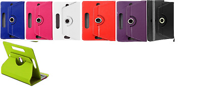 Hannspree HANNSpad 101 10.1  Inch Tablet Cover Stand 4 360° Rotating Case UK • 5.50£