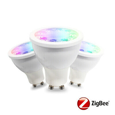 AU49.95 • Buy 5W Zigbee Smart RGBW Downlight Bulb | GU10 | Philips Hue