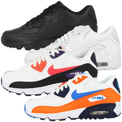Nike Air Max 90 Damen Schwarz Leder not in