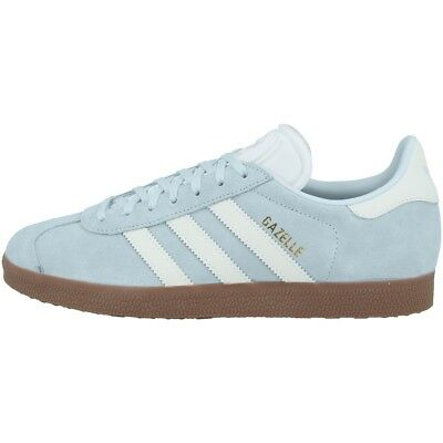 finest selection dc576 8ae21 Adidas Gazelle Scarpe Donna Damen Originals Sneakers Casual Blue Tint  CQ2178 • 78.20€