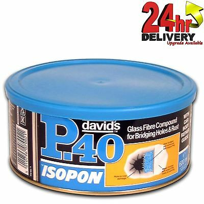 U-Pol Isopon P40 Fibre Glass BodyFiller No.1 600ml U-Pol • 15.26£