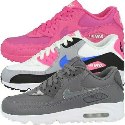 nike wmns air max 90 leather scarpe da ginnastica donna