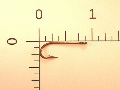 100 Mustad #12 FLY Fishing SCUD TYPE Hooks O/'Shaughnessy CADM /& TIN RINGED 7876