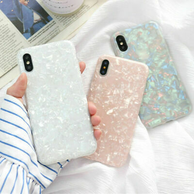 AU5.38 • Buy For IPhone 6 7 8 Plus XS Max XR Marble Shockproof Silicone Protective Case Cover