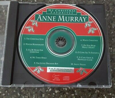 My Christmas Favorites Anne Murray (CD, 1995, Cema) DISC ONLY • 4.99$