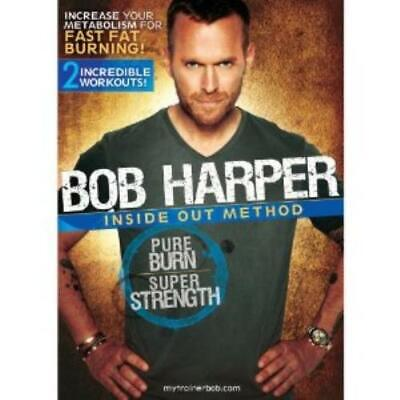 Bob Harper Pure Burn Super Strength DVD Highly Rated EBay Seller Great Prices • 12.99£