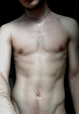 $ CDN4.22 • Buy Shirtless Male Beefcake Hairy Chest After Shower Close Up PHOTO 4X6 D664