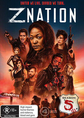 AU24.95 • Buy Z Nation : Season 5 (DVD, 2019, 4-Disc Set) R4