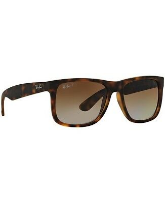 78ac6d18dc NEW Ray-Ban Justin Gradient POLARIZED Sunglasses RB 4165 Brown Tortoise •  79.99