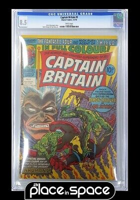 AU141.06 • Buy Captain Britain #9 - Trimpe Cover - Cgc 8.5 2nd App Of Betsy Aka Psylocke