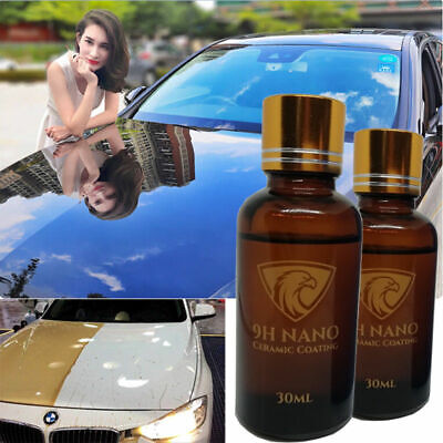 $6.40 • Buy  9H NANO Ceramic Car Glass Coating Liquid Hydrophobic AntiScratch Auto Care -DE