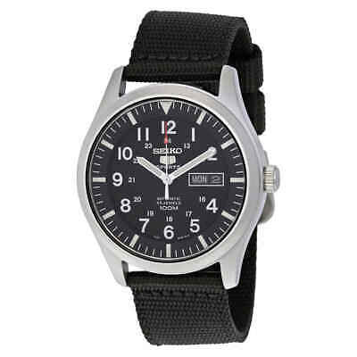 $ CDN152.68 • Buy Seiko 5 Sport Automatic Black Canvas Men's Watch SNZG15
