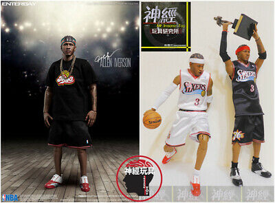 $540 • Buy Enterbay Allen Iverson 1/6 Action Figure 2 Pack Rm-1060 Upgraded Re-edition Ai