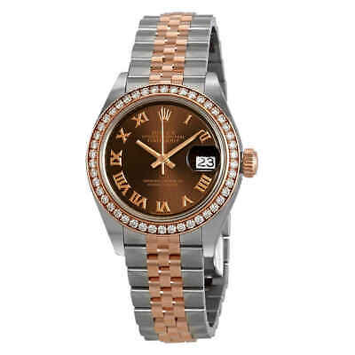 $ CDN20597.65 • Buy Rolex Lady Datejust Chocolate Dial Automatic Ladies Steel And 18K Jubilee Watch