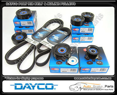 AU228 • Buy Dayco Belt & Nuline Pulley Kit For HOLDEN COMMODORE SUPERCHARGED VX 3.8L V6 L67