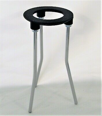 AU15.74 • Buy Cast Iron Stand Tripod For Lab Bunsen Burner Height 7  Ring Diameter 3 1/4