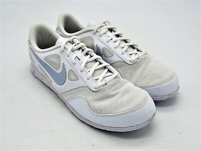 D1175 New Nike Women s Cheer Compete White Training Sneaker 10 M • 39.99  514c15a4f