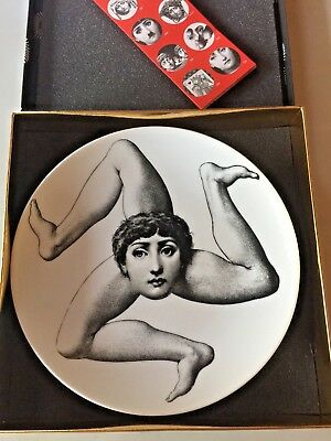 $170 • Buy Fornasetti T&V Plate 186