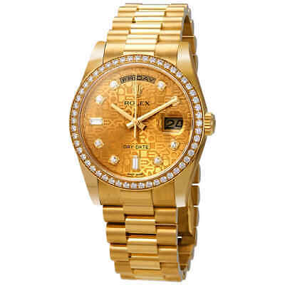 $ CDN52428.45 • Buy Rolex Day-Date Champagne Jubilee Automatic 18kt Yellow Gold 36 Mm President