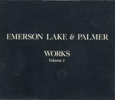 Emerson Lake & Palmer : Works 1 CD Value Guaranteed From EBay's Biggest Seller! • 6.15£