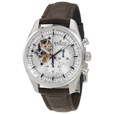 $5244.75 • Buy Zenith Chronomaster El Primero Automatic Chronograph Silver Dial Men's Watch