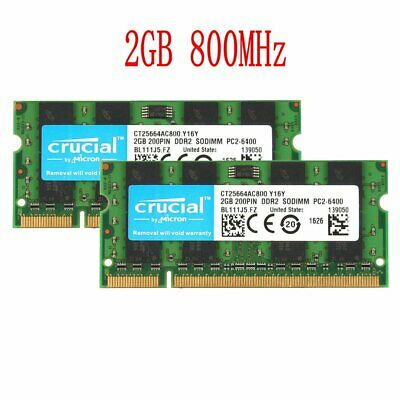 AU22.26 • Buy 4GB (2x 2GB Kit) For HP EliteBook 2530p 2730p 6930p 8530p 8530w Laptop Memory UK