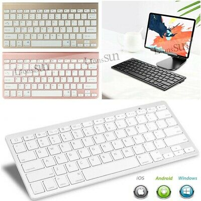X6 Bluetooth Keyboard For Samsung Galaxy Tab A A6 S4/S2/3/4 7''-10.5'' Tablet • 17.99£