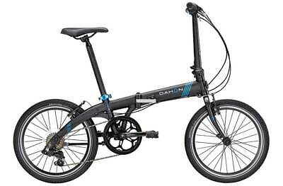 View Details Dahon Vybe D7 2017 Urban City Folding Cycle Bike - Black/Blue  New  Sealed Wrnty • 374.99£