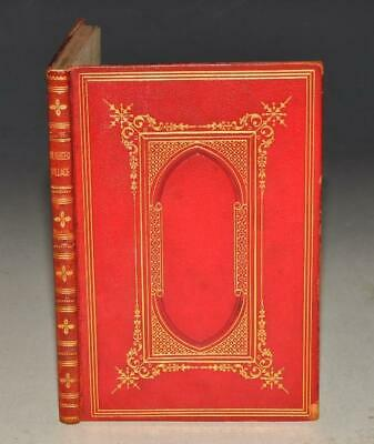 Oliver Goldsmith The Deserted Village Illustrated Etching Club Fine Binding 1861 • 60£