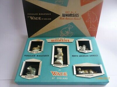 £49.99 • Buy WADE Whimsie First 1ST American Animals Box Set