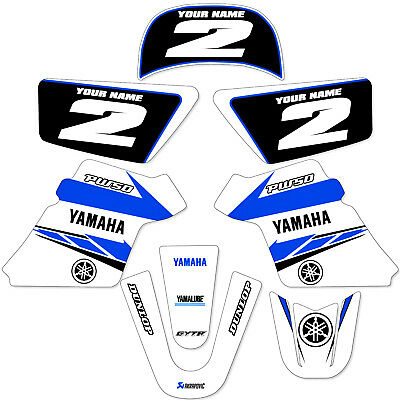 $ CDN60.47 • Buy YAMAHA PW 50 PW50  GRAPHICS KIT DECALS DECO Fits Years 1990 - 2018 White
