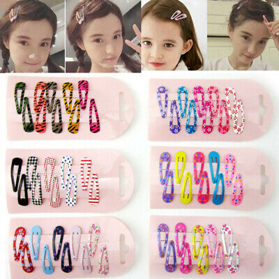 $0.76 • Buy Lot 6/10pcs Baby Girls Hair Clips Barrette Hair Pin Hair Accessories Kids Gifts