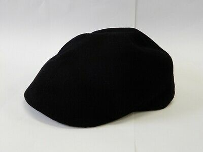 2367510a49d4a Barneys New York Men s Fashion Hat Gatsby Cap Cashmere   Wool Black Large  Italy • 39.00
