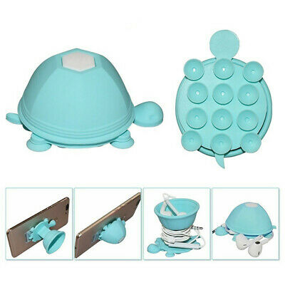 $6.32 • Buy Cute Portable Silicone Turtle Shaped Cable Earphone Winder Headphone Cord Holder