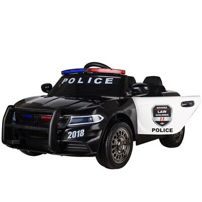 £159.99 • Buy Kids Electric Ride On Police Car 12v Battery With Parental Remote Control