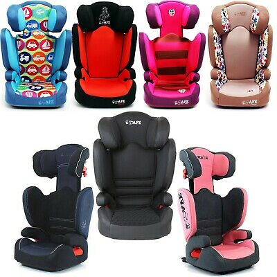 £24.95 • Buy Childs ISafe High Back Booster Safety Car Seat, Adjustable With Free ISOFIX