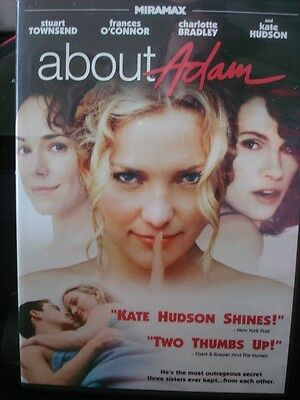 AU11.30 • Buy About Adam (DVD, 2011) Kate Hudson RARE OOP! WORLDWIDE SHIP AVAIL!
