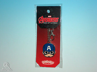 $ CDN25.32 • Buy Hot Toys Cosbaby Captain America Keychain Age Of Ultron Keyring Marvel New