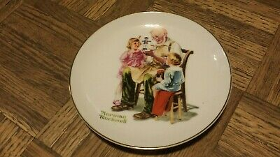 $ CDN4.96 • Buy NORMAN ROCKWELL 1984 Collector Plate THE TOY MAKER