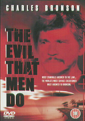 The Evil That Men Do DVD (2004) Charles Bronson, Thompson (DIR) Cert 18 • 3.98£