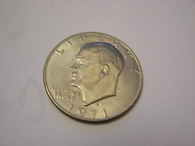 $8.99 • Buy 1971-D Eisenhower One Dollar Circulated Coin