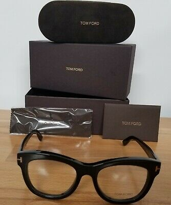 aefcd7d63c Brand New Authentic Tom Ford Eyeglasses FT TF 5463 001 52mm Shiny Black  Frame • 128.99