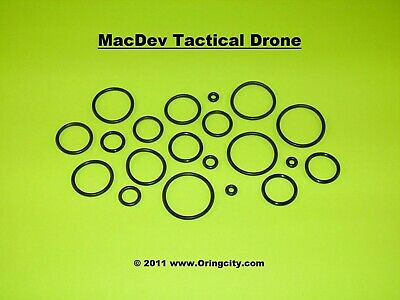 $8.99 • Buy MacDev Tactical Drone/Drone DX Paintball Marker O-Ring Kit