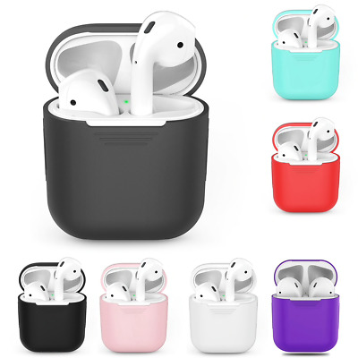 $ CDN6.21 • Buy Coque Housse Antichoc Protection Apple AirPods Silicone Case Slim Ecouteur