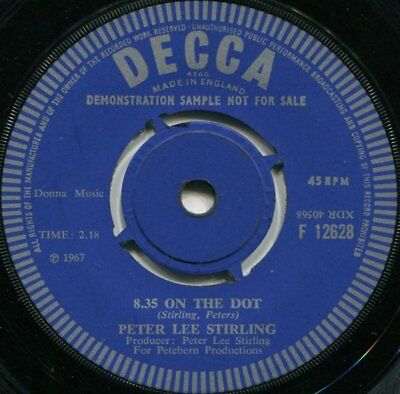 £75 • Buy Peter Lee Stirling*8.35 On The Dot*mod Psych Dancer*in Demand*top Copy
