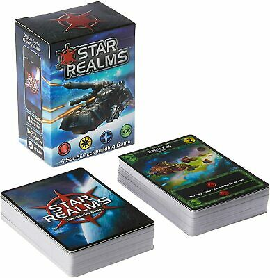 Star Realms Deckbuilding Card Game White Wizard Games WWG 001 2 Players TableTop • 15.98$