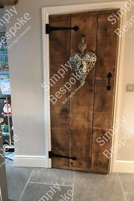£145 • Buy Farmhouse Solid Rustic Ledged Doors - Bespoke - Made To Measure