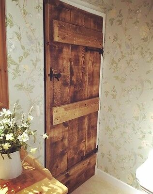 £145 • Buy Stunning Farmhouse Style Rustic Ledged Doors ~ Can Make Any Size