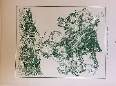 $3.11 • Buy M17a1 Ephemera 1920s Book Plate Do Tell Us A Fairy Story Auntie